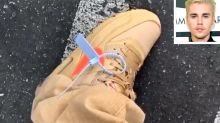 Justin Bieber Questioned by Police Who Mistake Design Feature on His Sneakers for a Security Tag
