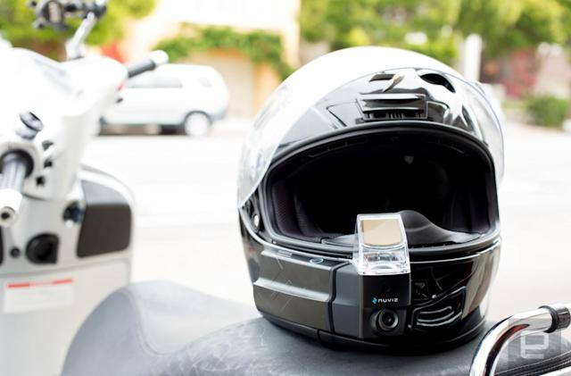 Motorcycle helmets finally get decent heads-up display navigation