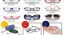 【眼鏡娘ready】日本扭蛋「迷你眼鏡」 可摺合有眼鏡盒