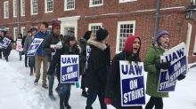 Harvard grad student workers go on strike, seeking $25 an hour minimum wage, other demands