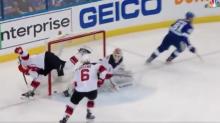 Watch: Sami Vatanen scores on his own net in Game 2 vs. Lightning