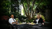 Do high-profile meals signal Clinton is running for president?