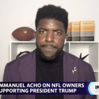 White men lead NFL franchises because of 'nepotism and cronyism': Emmanuel Acho