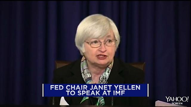 Fed Chair Yellen to speak at IMF