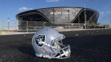 Watch Allegiant Stadium grass being prepared for Raiders' home opener