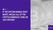 Your bitcoin questions answered: If the bitcoin bubble does burst, would all of the cryptocurrencies tank or just bitcoin?