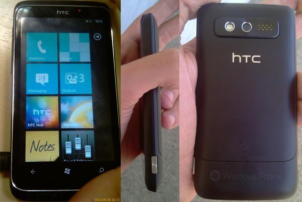 HTC Spark leaked in the wild, shows off plenty of WP7 goodness