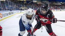 "Canadian women's hockey team holds Calgary ""bubble"" camp"