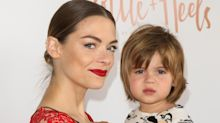 Jaime King's 4-year-old son rocks a pink dress on the red carpet