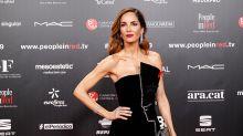 Eugenia Silva borda el 'black lady' en la gala 'People in Red'