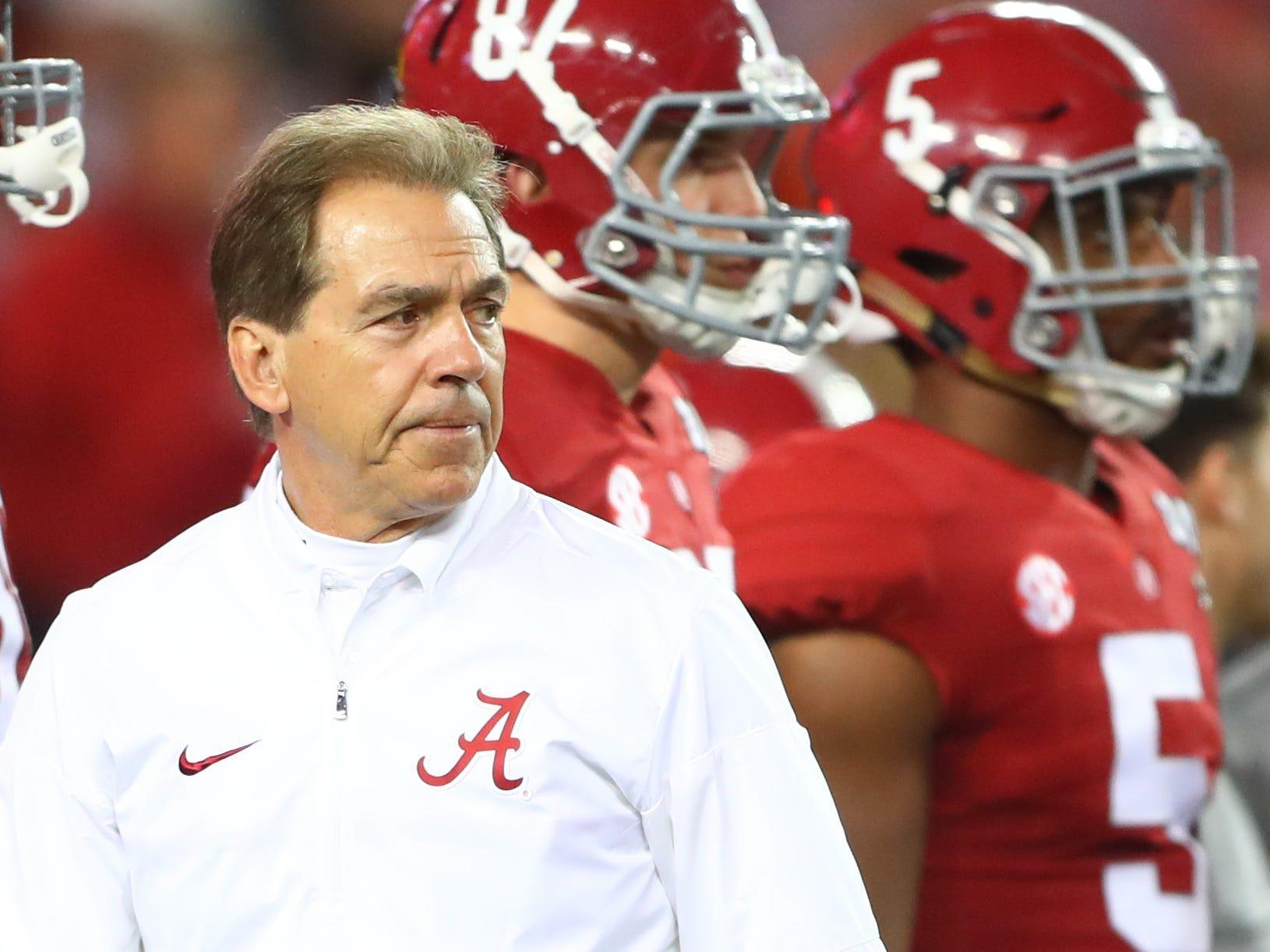 Alabama commissioned a private jet to fly Nick Saban's snot across the state for COVID-19 testing, enabling the famed coach to rejoin his Crimson Tide in time for kickoff