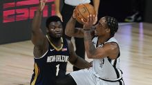 Zion Williamson, Pelicans eliminated from playoffs after loss to Spurs
