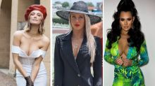 Melbourne Cup: Plunging dresses dominate 2020 fashion stakes