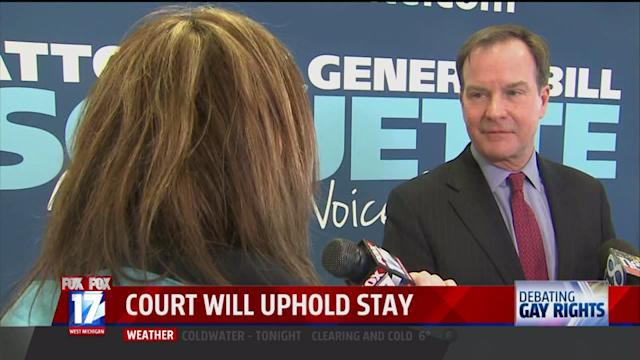 WXMI: FOX 17 Questions Michigan Attorney General About Appealing Gay Marriage Ruling