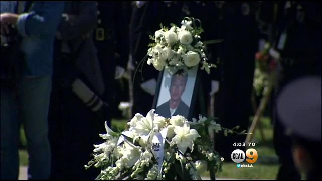 Police Officers From Across California Mourn LAPD's Nicholas Lee