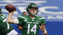Jets QB Darnold returns to practice, has chance to play