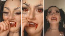 Warning over bizarre TikTok Halloween trend