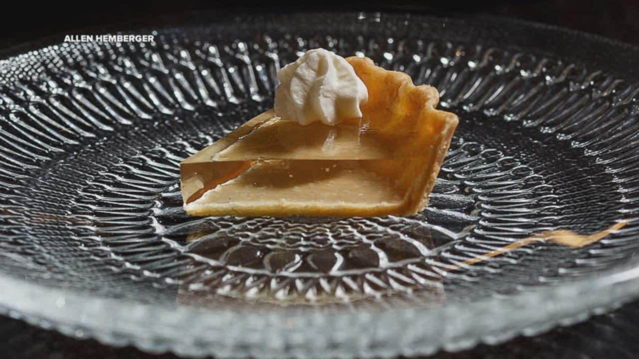 Chicago chef unveils translucent pumpkin pie just in time for Alinea chef de cuisine