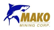 Mako Mining Announces Non-Brokered Private Placement Financing with Existing Shareholders