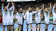Handball-WM: Bei WM-Finaleinzug: Handballer feiern mit Fans in Berlin