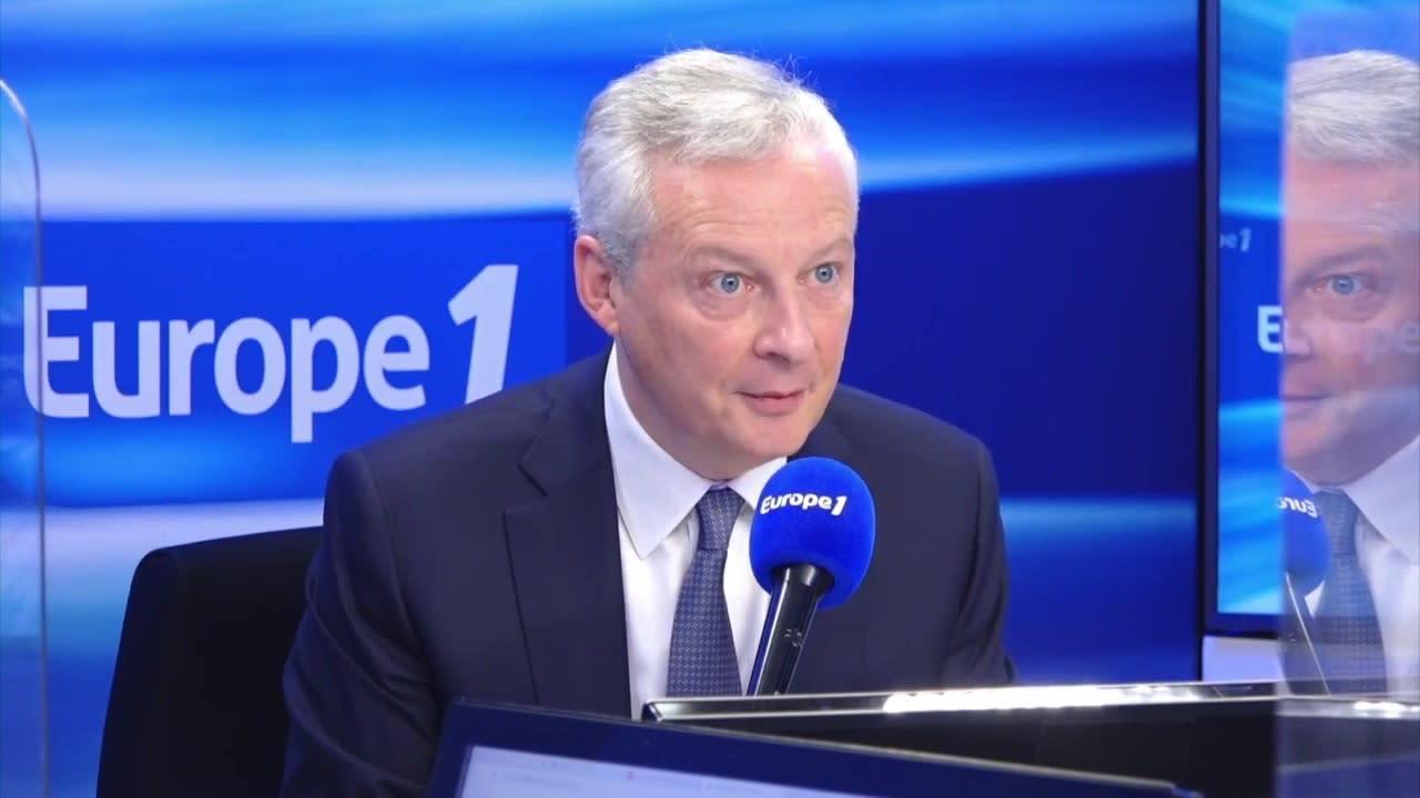 """Accusé de """"cramer la caisse"""" par Valérie Pécresse, Bruno Le Maire répond"""