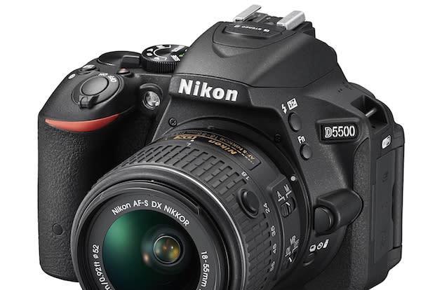 Nikon's D5500 is its newest mid-range DSLR