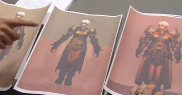 Diablo 3's female Monk designs revealed on The Jace Hall Show