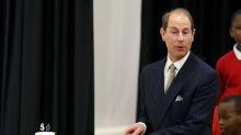 Prince Edward's cake cutting has the internet in hysterics
