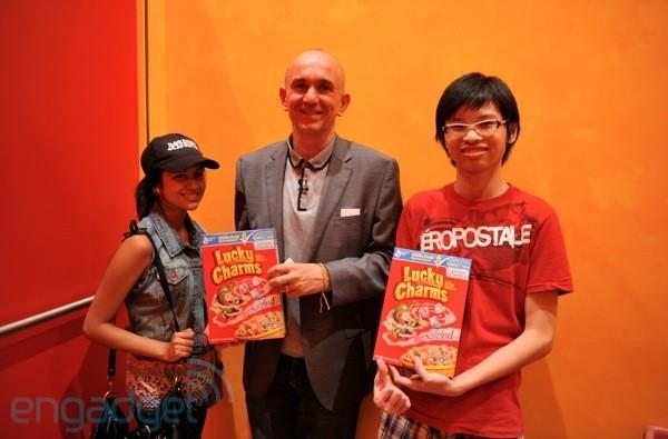 Be the first to show up at the Engadget Show with Lucky Charms and Peter Molyneux will put you in Fable III! (We've got winners!)