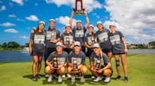 Division II women's golf team gets cut for budget reasons, ends up winning national championship