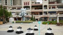 """Baemin Introduces an Outdoor Delivery Robot """"The City of the Future Became A Reality"""""""