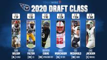 Bleacher Report gives Titans' 2020 draft class a surprising grade