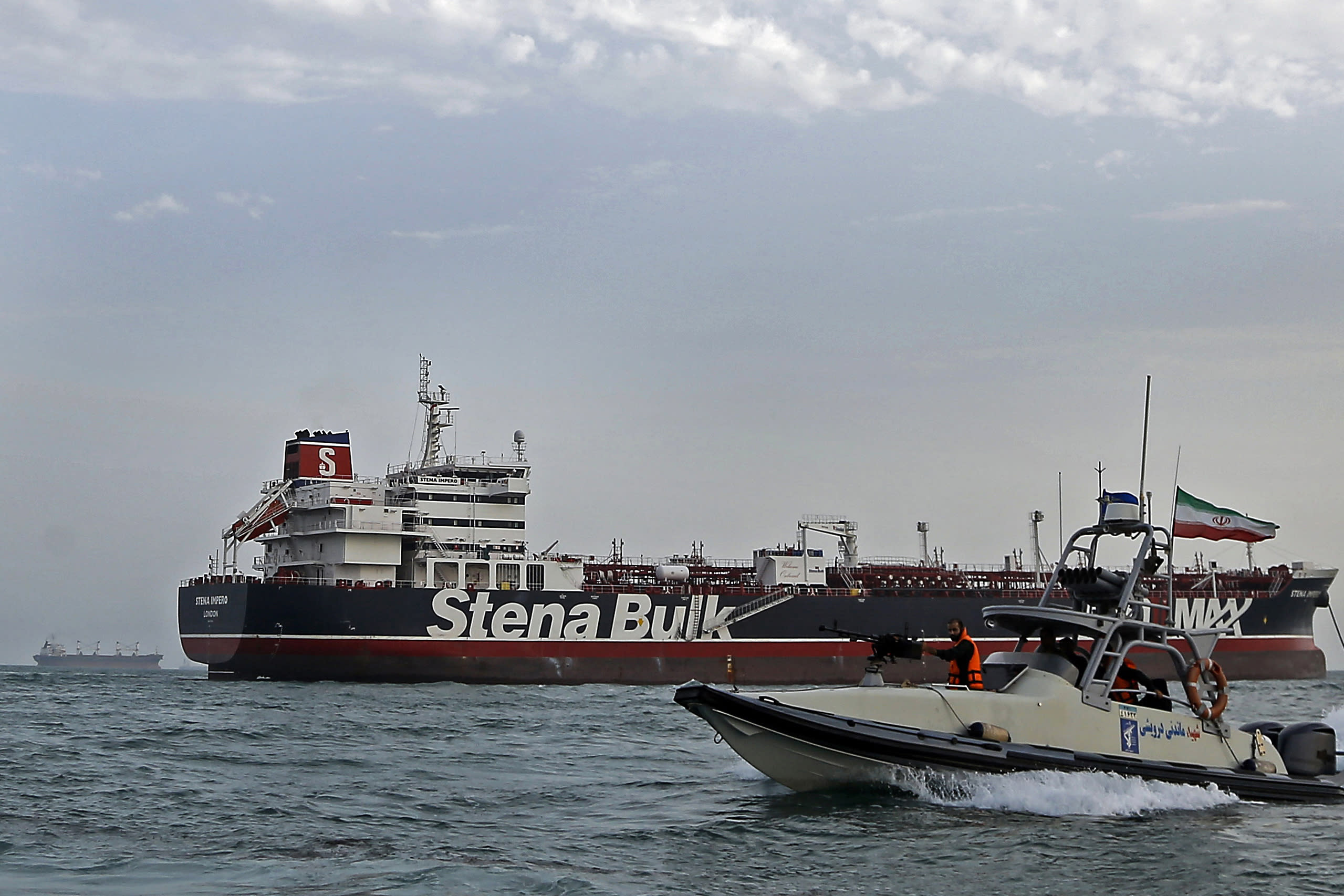 Detained British oil tanker departs Iran, owner says