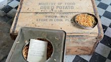 24-Jähriger probiert Weltkriegskartoffeln