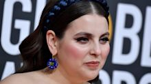 Beanie Feldstein hit the Golden Globes in this season's hottest statement accessory