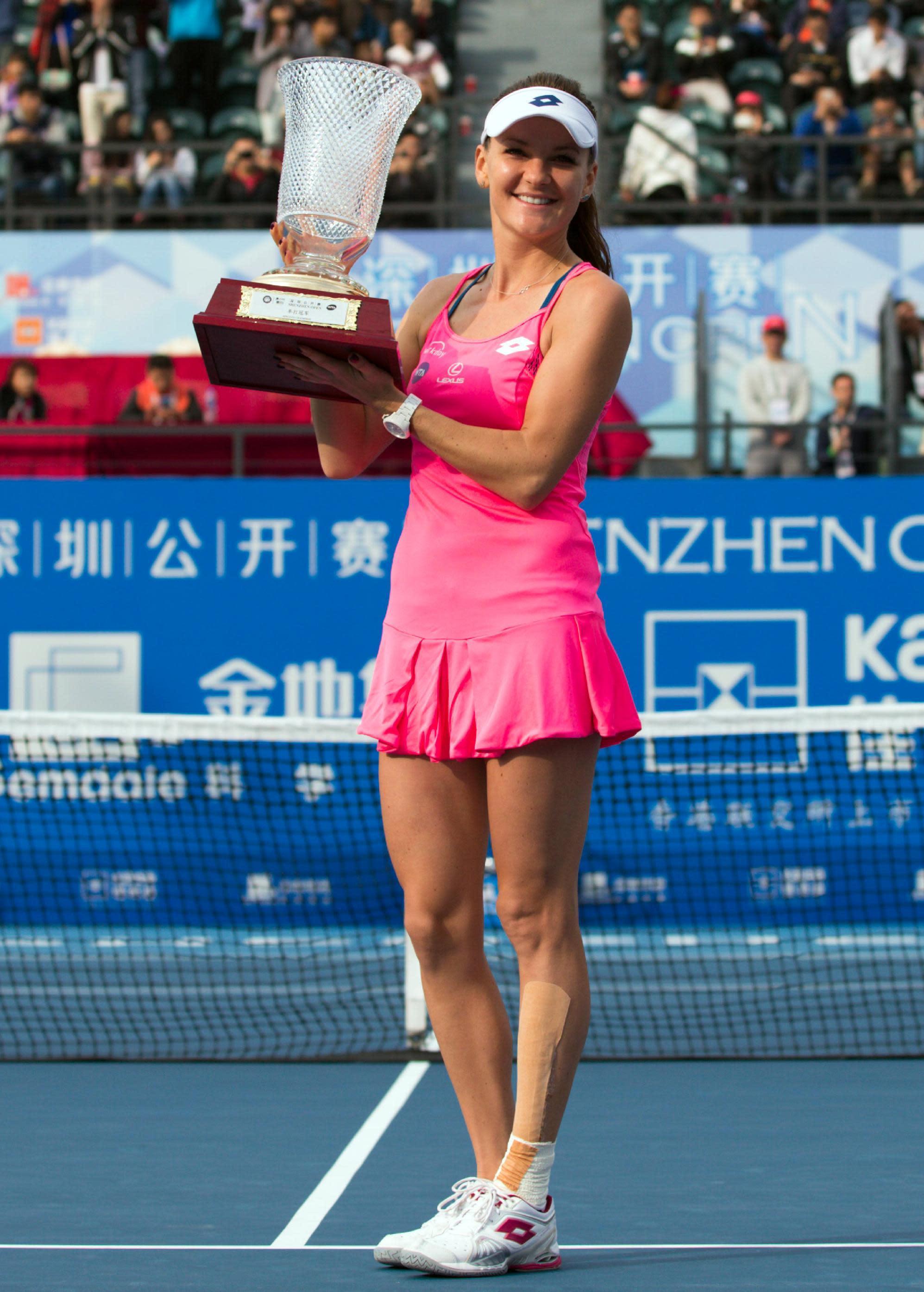 Agnieszka Radwanska world singles ranking 2