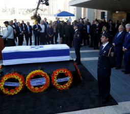 Palestinian president plans to attend funeral of Israel's Peres