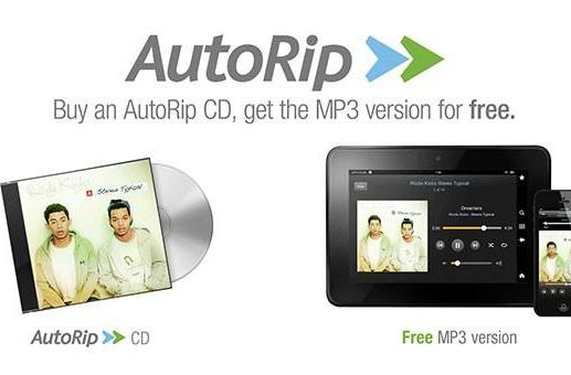 Amazon AutoRip arrives in the UK, offers free MP3 versions for over 350,000 CDs