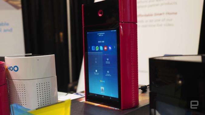 WooHoo is an Echo with a touchscreen, facial recognition and more