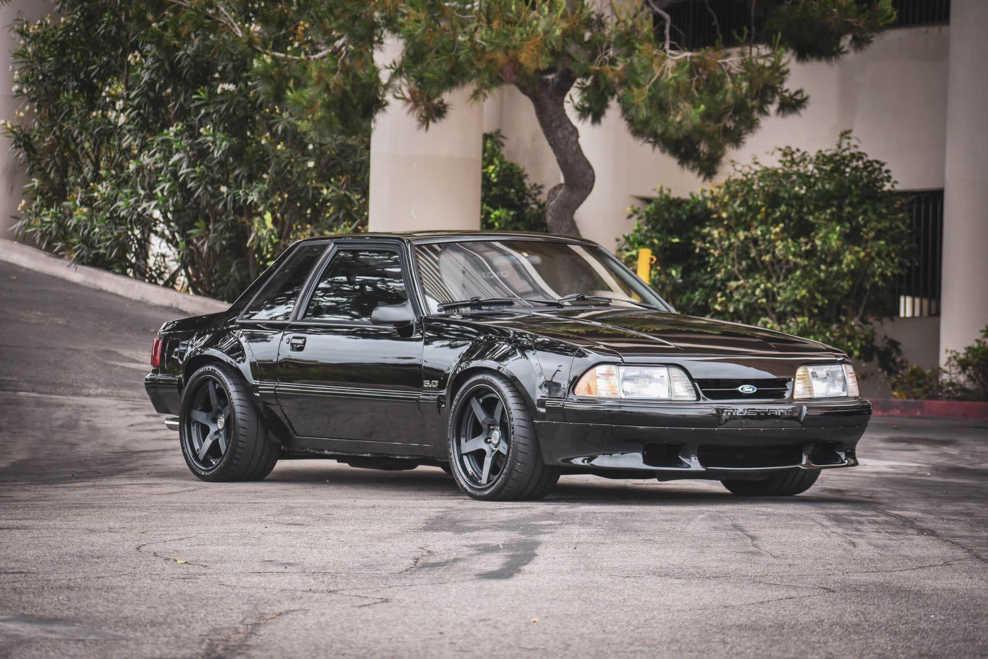 Matt Farah S Modded 1988 Ford Mustang Ssp Wide Body For Sale
