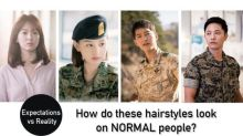 Hairstyles Seen on 'Descendants of the Sun': Expectations vs Reality
