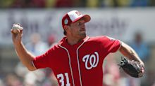 Scherzer says finger healed, should pitch in opening week