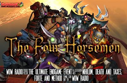 Four endgame guilds on WoW Radio today