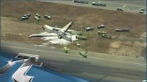 Disaster & Accident Breaking News: Victim in Asiana Crash was Run Over by Fire Truck: Police