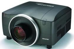 Christie's LW650 projector tilts and shifts itself out of less-than-ideal placement