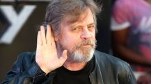 Mark Hamill shares the first ever photo of Luke Skywalker