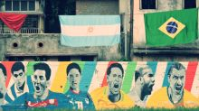 In Pictures: Kolkata Celebrates The World Cup With Graffiti And Sandesh