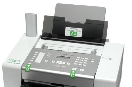 Celery lets Gran tweet from the fax machine