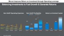 Micron's Growth Strategy Focuses on Higher Return on Investment