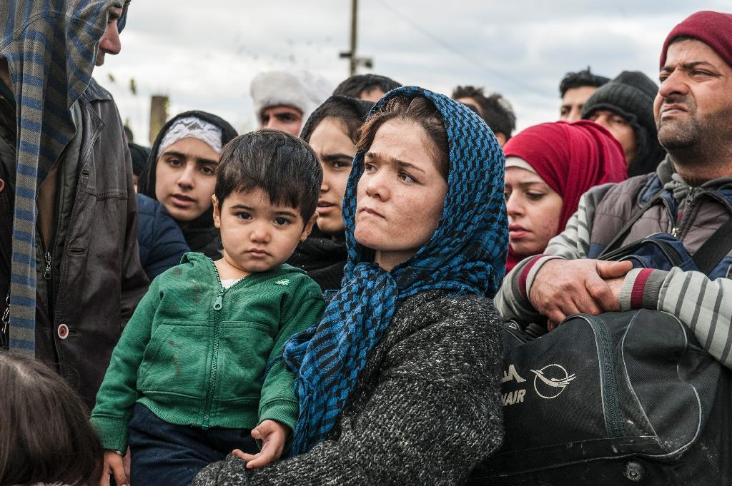 Slovakia is challenging the mandatory quotas on refugee re-location adopted by the EU in September Some three-kilometre (1.8-mile) long metal fence was erected by the army at the Gevgelija crossing, on the main road north from the Greek city of Thessaloniki to Macedonia's capital Skopje. The border will remain open and only people who are not from war-affected regions will not be allowed to cross, spokesman Aleksandar Gjorgjev told AFP. (AFP Photo/Armend Nimani)